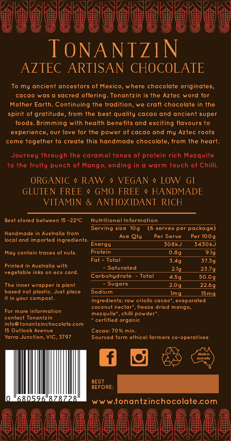 Raw Bar – Chilli Mango Mezquite