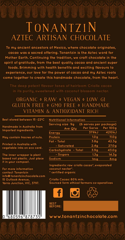 Raw Bar – Pure Dark 80%