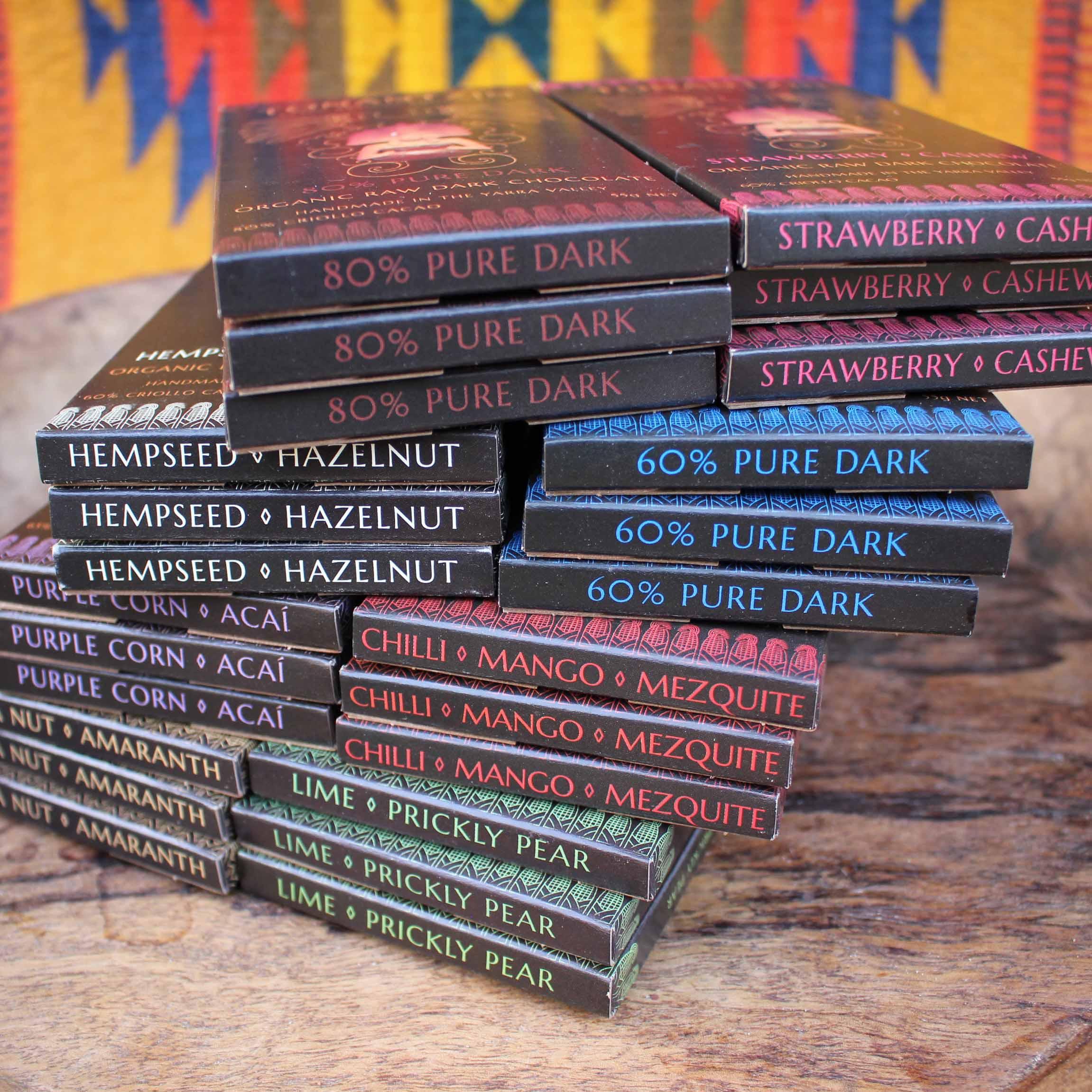 Chocolate Heaven Bundle – 24 bars