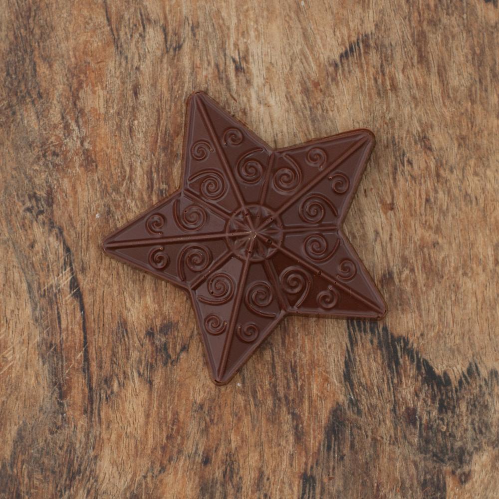 Chocolate Christmas Star