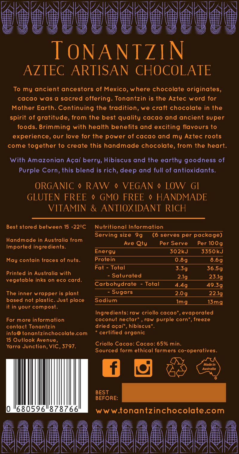 Raw Bar – Purple Corn Acai