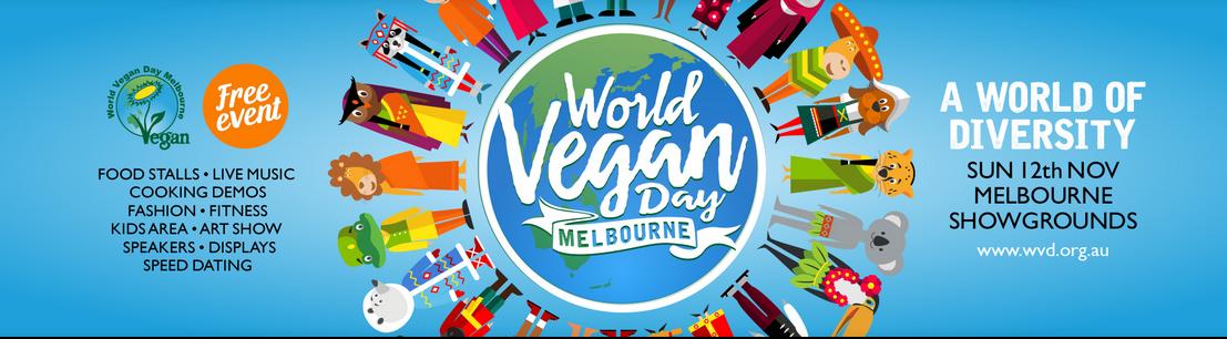 World Vegan Day Melbourne 2017 at the Flemington Showgrounds!