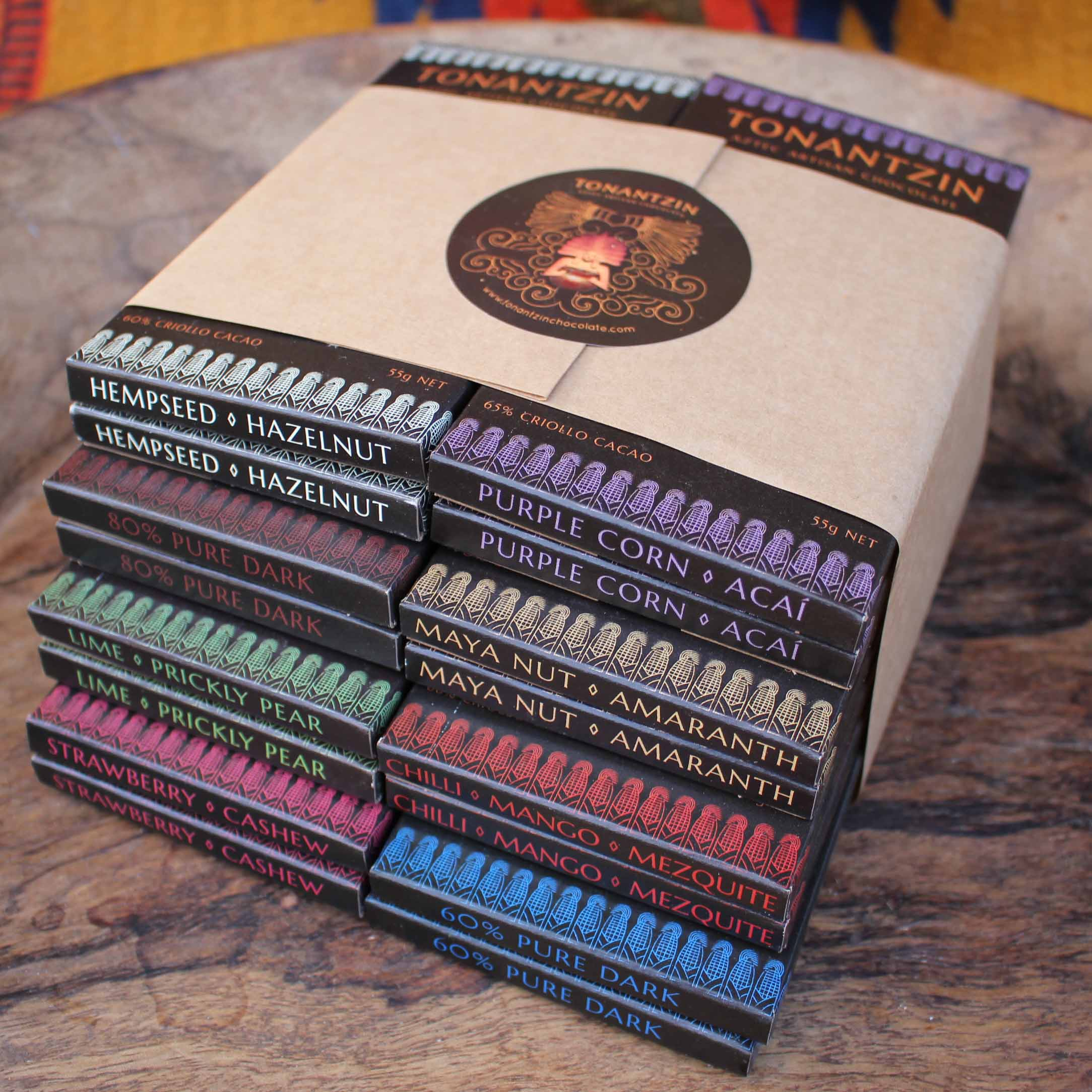 Cacao Lovers Bundle – 16 Bars