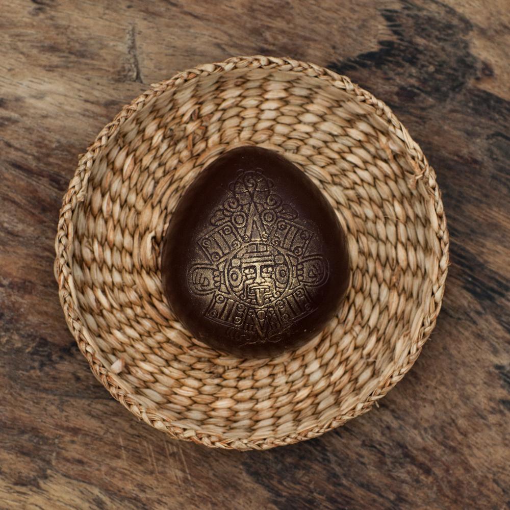 Aztec Egg with Cashew Ganache